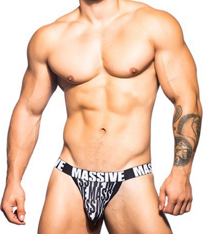 MASSIVE Bold Mesh Jock 後空內褲 (Free Colour)_cover