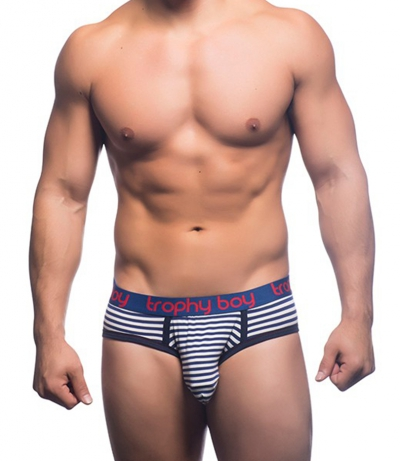 Trophy Boy Nautical Stripe Brief 三角內褲 (Free)_cover