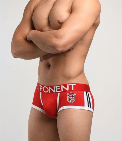3D Mesh Eternal glory - Sports Trunk (Red)