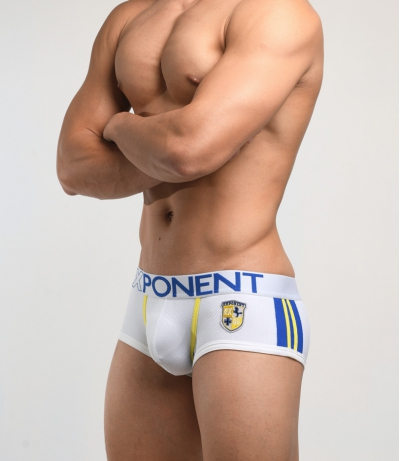 3D Mesh Eternal glory - Sports Trunk (White)