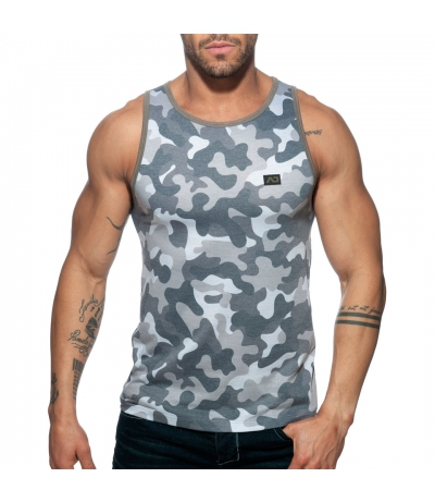 WASHED CAMO TANK TOP 背心 (迷彩灰)_cover