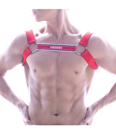 [ M2W ] Logo Harness (Red)