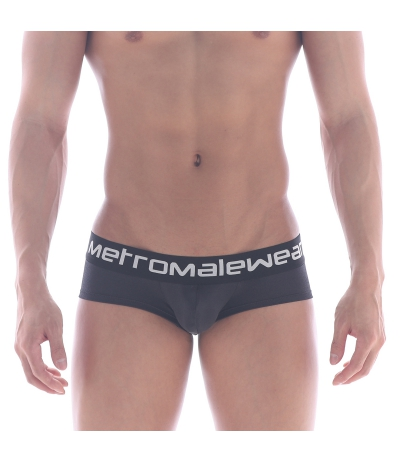 [ M2W ] Mini Cheek Boxer Metal (Black)
