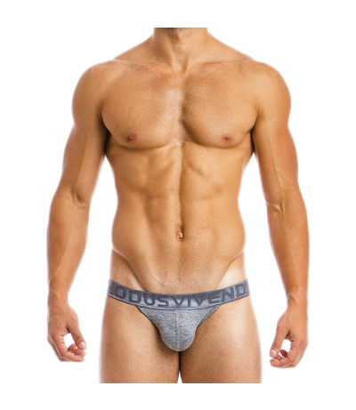 MOHAIR TANGA BRIEF (Grey)