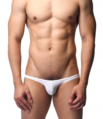 Aqua Mist Kindan - Low Rise Briefs (White)