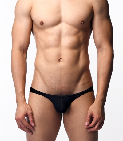 Aqua Mist Kindan - Low Rise Briefs (Black)