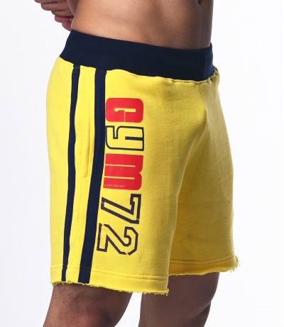 GYM72 Shorts (Yellow)