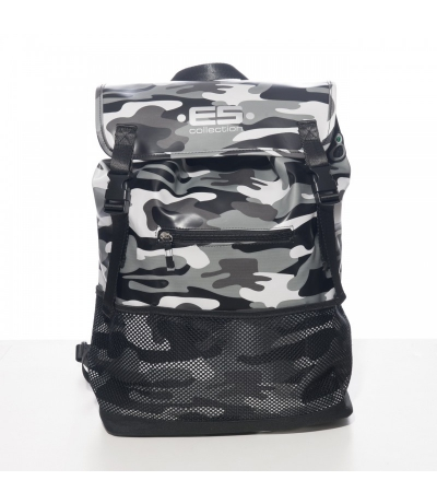 CAMOUFLAGE BACKPACK (Camo Grey)