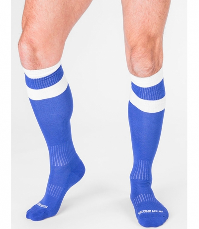 BARCODE FOOTBALL SOCKS 襪子 (蓝色)(图)
