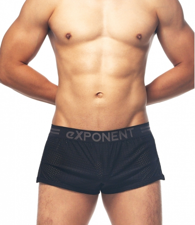 A PLUS-4D TECH BOXER (Black)