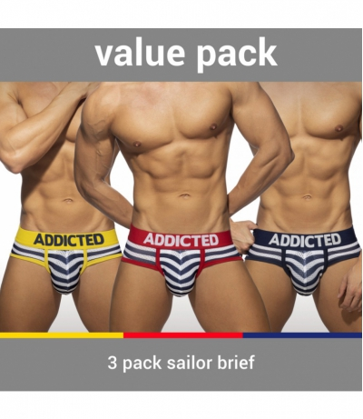 【PRE-ORDER】3 PACK SAILOR BRIEF (3 PACK)
