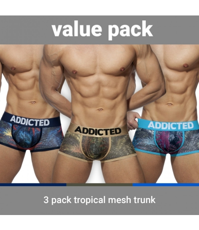 【PRE-ORDER】3 PACK TROPICAL MESH TRUNK PUSH UP (3 PACK)