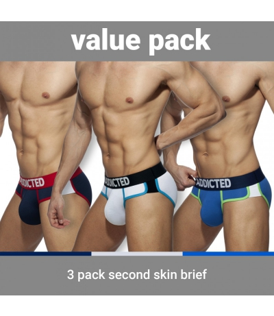 【PRE-ORDER】3 PACK SECOND SKIN BRIEF (3 PACK)