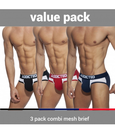 【預購商品】3 PACK COMBI MESH BRIEF (3 PACK)