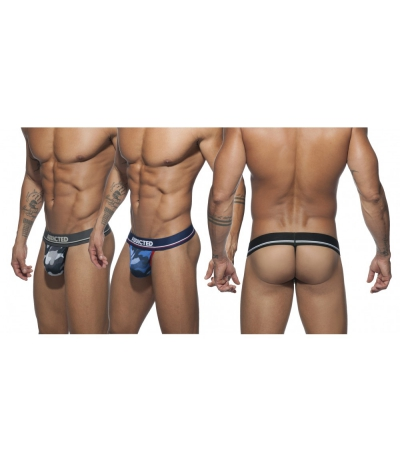 【PRE-ORDER】  3 PACK MESH THONG PUSH UP (3 PACK)