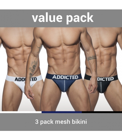 【PRE-ORDER】3 PACK MESH BIKINI PUSH UP (3 PACK)