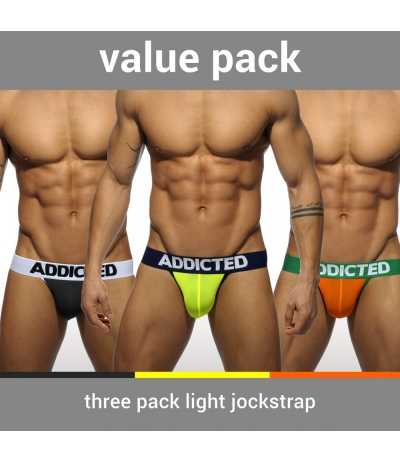【PRE-ORDER】3 PACK LIGHT JOCKSTRAP (3 PACK)