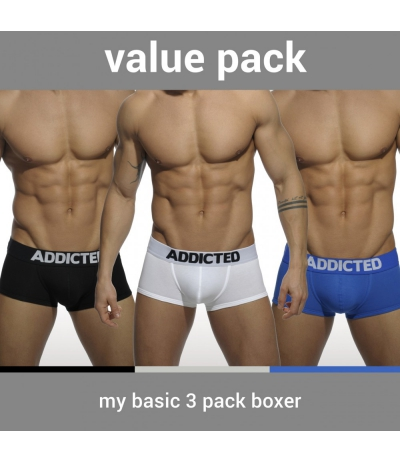【PRE-ORDER】3 PACK MY BASIC BOXER (3 PACK)