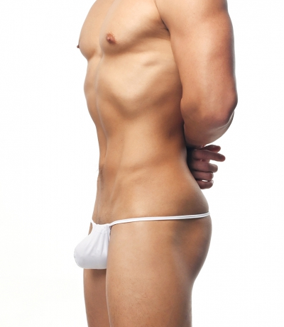 BFXtreme DYNA Smooth Thong (White)